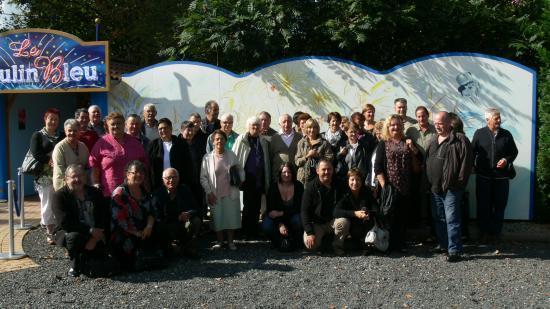 Avec le comité des fêtes d'Arnac