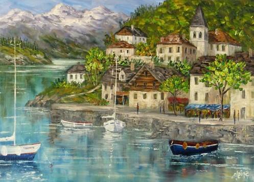 lac et prieuré