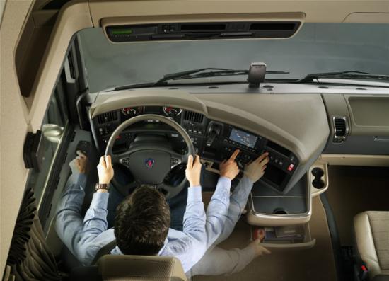 Scania serie r for Interieur camion scania