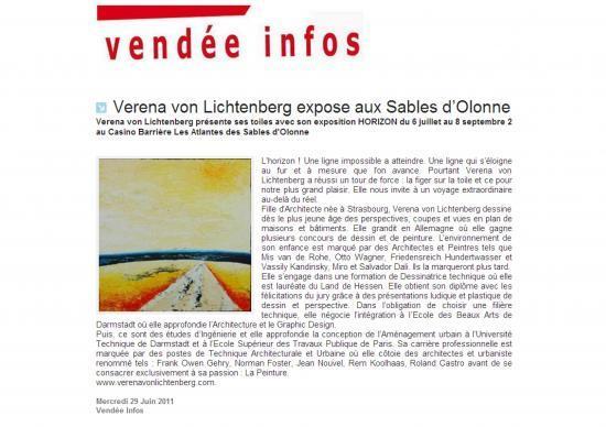Vendée Info 29 juin 2011