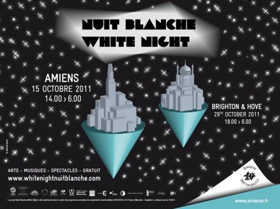Nuit Blanche : 6ème édition à Amiens