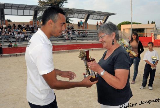 Jamel reçoit le Trophée Yvonne Coustès