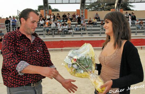 Un bouquet au bayle gardian